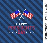 president's day poster with...   Shutterstock .eps vector #1913477689