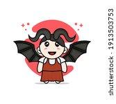 Cute Girl Character Wearing...