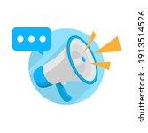 announcement concept... | Shutterstock .eps vector #1913514526