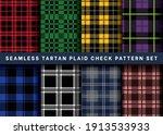 seamless tartan plaid check... | Shutterstock .eps vector #1913533933