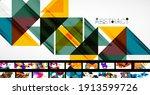mega set of trendy geometric...   Shutterstock .eps vector #1913599726