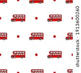 Vector Pattern Of English Red...