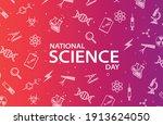 national science day  design... | Shutterstock .eps vector #1913624050