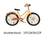 Bright Childish Bicycle Or Bike ...