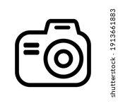 camera icon logo vector symbol | Shutterstock .eps vector #1913661883