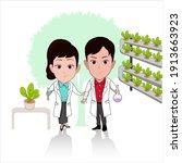 caricature cartoon of...   Shutterstock .eps vector #1913663923