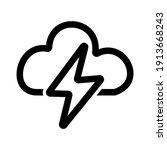 strom icon vector logo symbol | Shutterstock .eps vector #1913668243