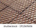 Rusted Steel Diamond Plates...