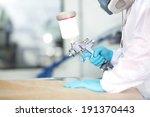 automotive paint. mechanic... | Shutterstock . vector #191370443
