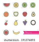 vector illustration fruit of...   Shutterstock .eps vector #191376893