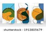 set of geometric shapes.... | Shutterstock .eps vector #1913805679