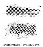 race flag grunge pattern ... | Shutterstock .eps vector #1913822596