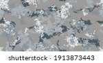 camouflage geometric seamless... | Shutterstock .eps vector #1913873443