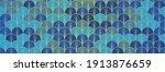 japanese fan golden seamless... | Shutterstock .eps vector #1913876659