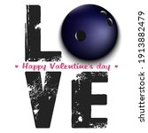 happy valentines day. love and... | Shutterstock .eps vector #1913882479