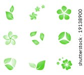 nature elements | Shutterstock .eps vector #19138900