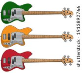 electric bass vector  vector... | Shutterstock .eps vector #1913892766