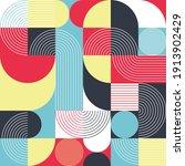 art deco style seamless pattern ... | Shutterstock .eps vector #1913902429