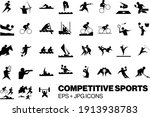 competitive sports competition... | Shutterstock .eps vector #1913938783