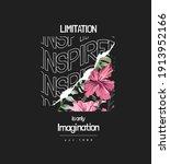 limitation and inspired slogan... | Shutterstock .eps vector #1913952166