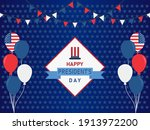 united states national holidays.... | Shutterstock .eps vector #1913972200