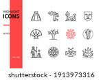 aztec civilization   modern...   Shutterstock .eps vector #1913973316