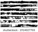 set of grunge brush strokes.... | Shutterstock .eps vector #1914027703
