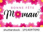 happy mothers day   bonne fete... | Shutterstock .eps vector #1914097090