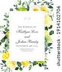 Elegant Wedding Card With...