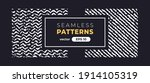 seamless abstract pattern.... | Shutterstock .eps vector #1914105319