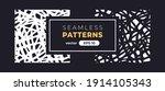 seamless abstract pattern.... | Shutterstock .eps vector #1914105343