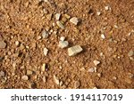 wet ground  yellow soil and... | Shutterstock . vector #1914117019