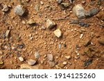 there are many broken stones on ... | Shutterstock . vector #1914125260