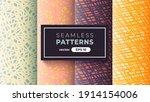 seamless abstract pattern.... | Shutterstock .eps vector #1914154006