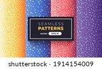 seamless abstract pattern.... | Shutterstock .eps vector #1914154009