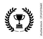 winner trophy icon vector ... | Shutterstock .eps vector #1914193660