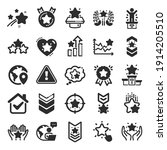ranking icons. first place ... | Shutterstock .eps vector #1914205510