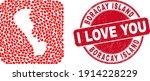 vector mosaic boracay island...   Shutterstock .eps vector #1914228229