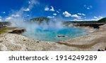 Excelsior Geyser Yellowstone...