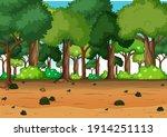 nature outdoor forest... | Shutterstock .eps vector #1914251113