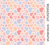 vector seamless pattern with... | Shutterstock .eps vector #1914254536