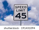 """the """"forty five"""" mile per hour... 
