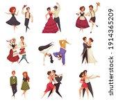 international dance day set of... | Shutterstock .eps vector #1914365209