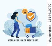 world consumer rights day... | Shutterstock .eps vector #1914410770