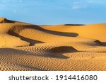 huge dunes of the desert.... | Shutterstock . vector #1914416080