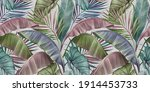 Tropical Exotic Luxury Seamless ...