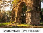 Ruins Of The Aqueduct Of The...