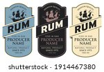 set of three vector labels for...   Shutterstock .eps vector #1914467380