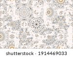 seamless vintage pattern with... | Shutterstock .eps vector #1914469033