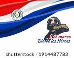 translation  march 1  heroes... | Shutterstock .eps vector #1914487783